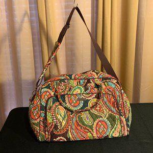 NWT Vera Bradley Weekender Bag Heirloom Paisley